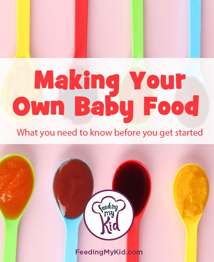 Making Your Own Baby Food What You Need To Know Before You Get Started.  Here is everything you need to know to make your own baby food, baby purees, baby-led weaning BLW, introducing solids to baby.