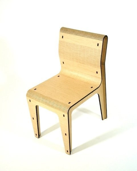 oak chair, made in italy, fuorisalone2013, laser cut, wood, wooden chair, cool chair, design chair, furniture