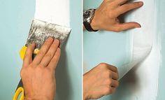 Rebouchage d'une fissure sur plaque de plâtre - http://www.systemed.fr/