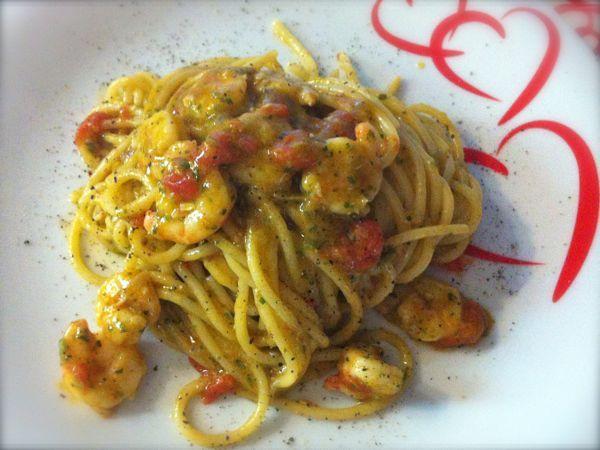 Ricetta del giorno: pasta con pesto e gamberetti - Live Sicilia