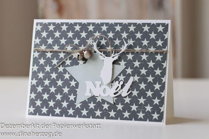 Schönes aus Papier handgemacht!: Sterne, Hirsch und Glöckchen