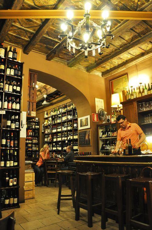 Wine bar - Il Goccetto - Via dei Banchi Vecchi 14, Roma