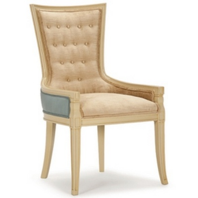 Two tone Barrymore chair made in Canada
