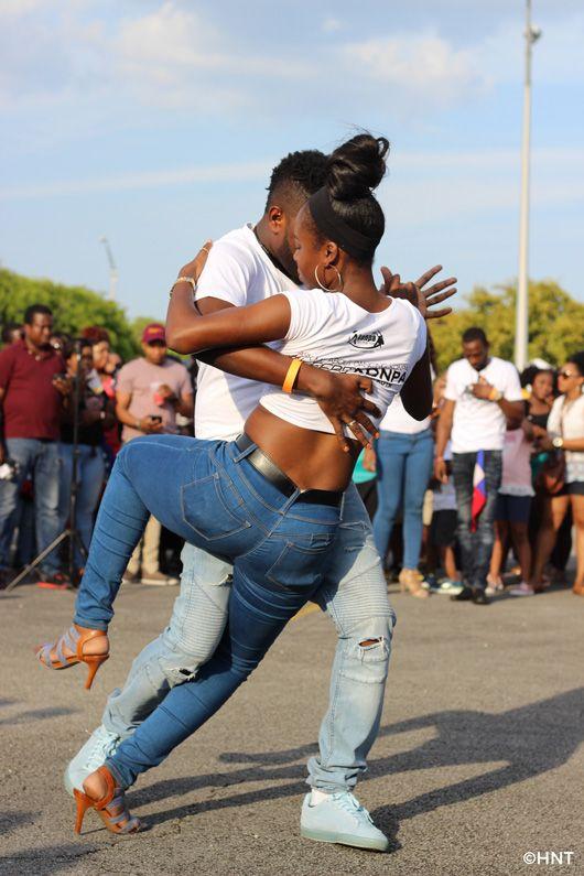 Haitian kompa dancers performing at Taste of Haiti