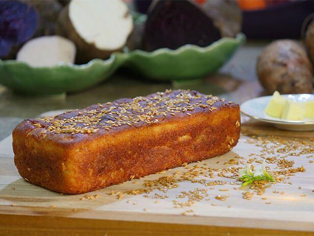 Pão Caseiro de Cará e Milho - Food Network