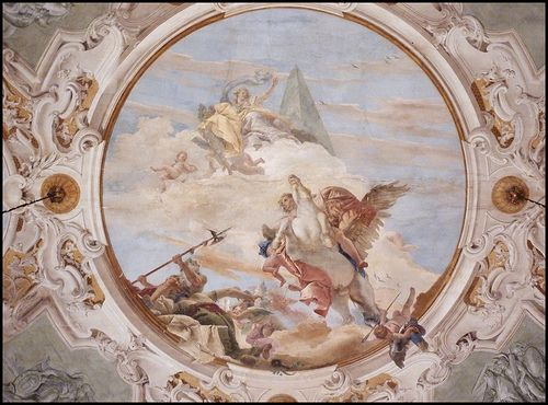 All sizes | Venezia / Venice: Inside the Palazzo Labia. Ceiling (Fresco by Giovanni Battista Tiepolo) | Flickr - Photo Sharing!: