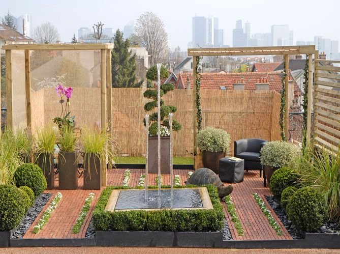 15 epingles creation de jardin contemporain With good petit meuble d entree design 15 creation de meubles en palettes pour votre decoration