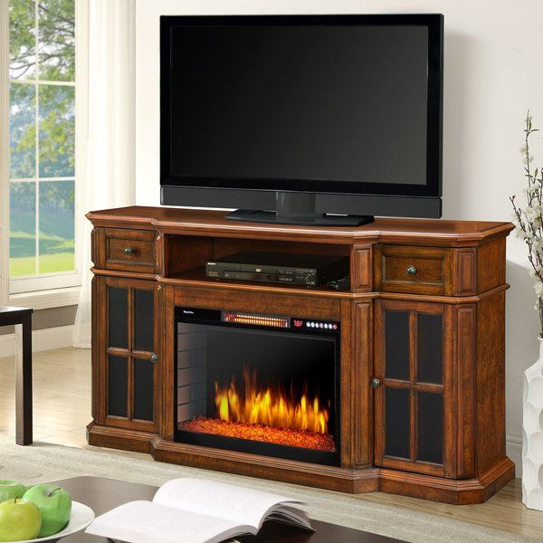 Sinclair Tv Stand For Tvs Up To 78 With Fireplace Included