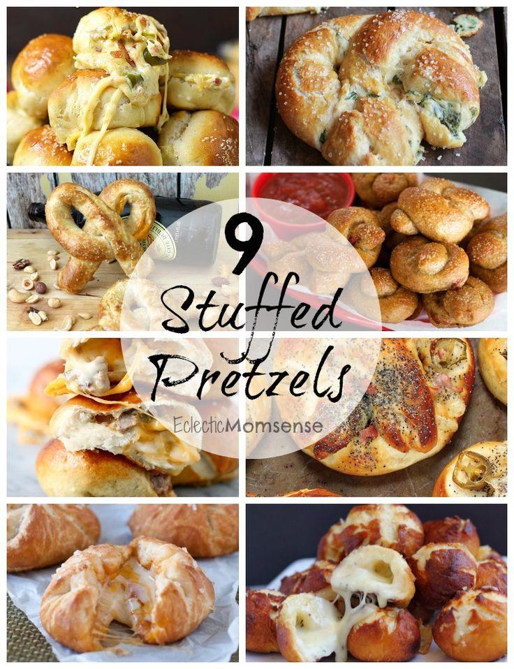 Stuffed Pretzel Recipes