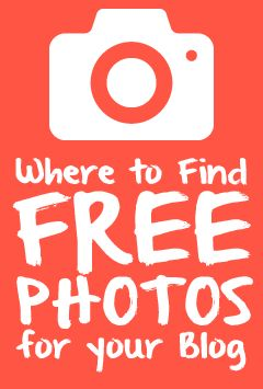 Where to Find FREE Photos for your Blog with over 30 sources listed. || www.sandeejackson.com