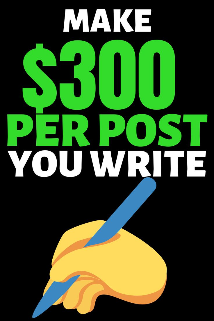 Online job that pays $300 per post you write! – Sandra Spies