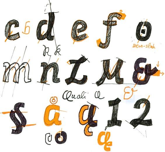 Sinews Sans in progress