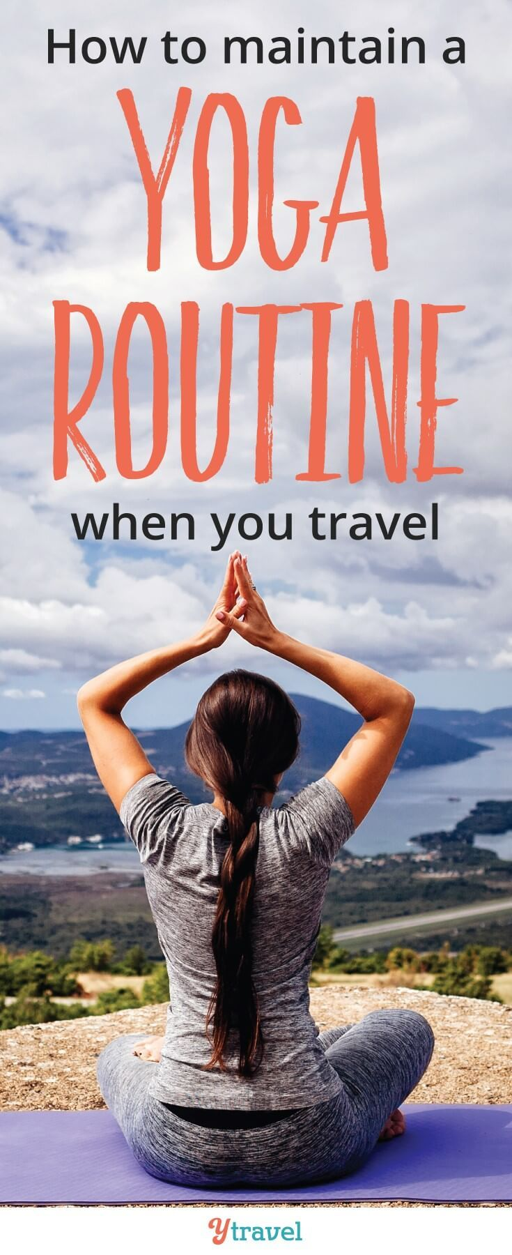 Grokker Review: How to maintain a travel workout routine. I love online fitness classes and yoga classes to help me keep up my strength and fitness when I travel. Grokker is a great online fitness and yoga membership that helps me do it. It also has meditation and cooking classes. check it out. #yoga #grokker #traveltips