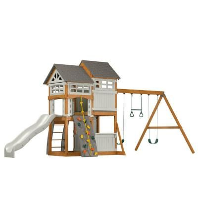 Suncast Ready to Assemble Vista Hybrid Play Set-WRP7000D at The Home Depot