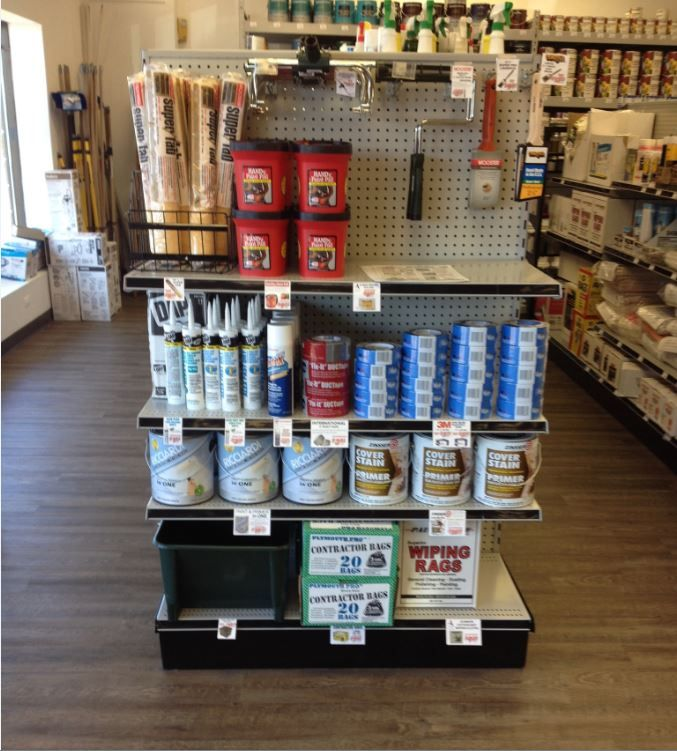 End Cap Shelving from Handy Store Fixtures.