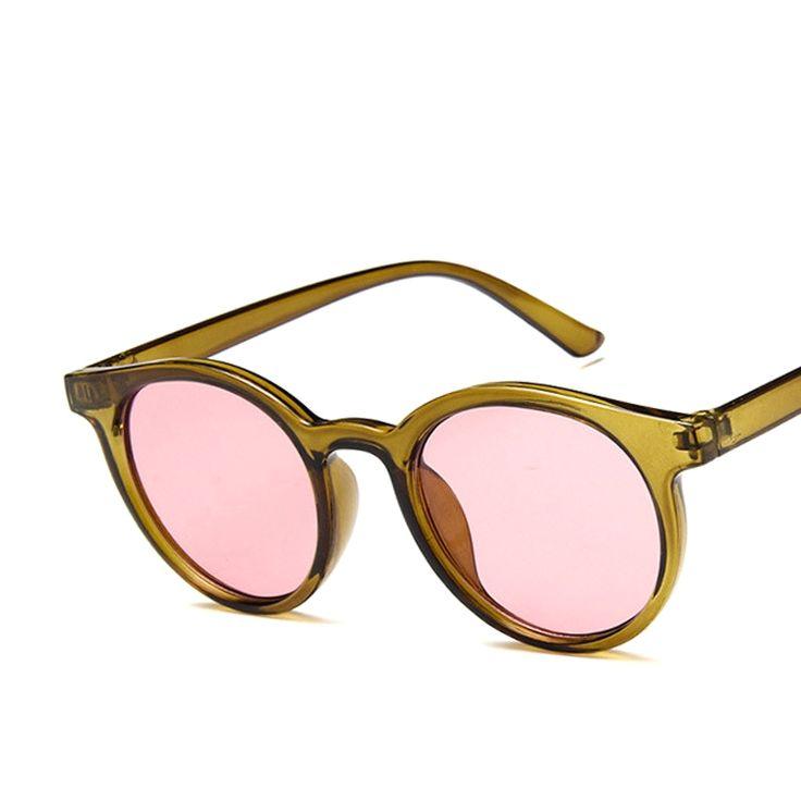 HAPTRON 2018 Red blue round Sunglasses Women Brand Designer Fashion Pink Yellow Sun Glasses Vintage Retro Shades [orc32873207791] – $22.58 : BuyEyesWear Sunglasses