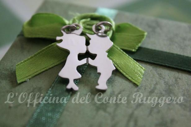 Ciondolo bacio fidanzati Boyfriend and girlfriend #kiss