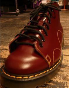 Jump the Gun - Monkey boots-Oxblood/Solovair