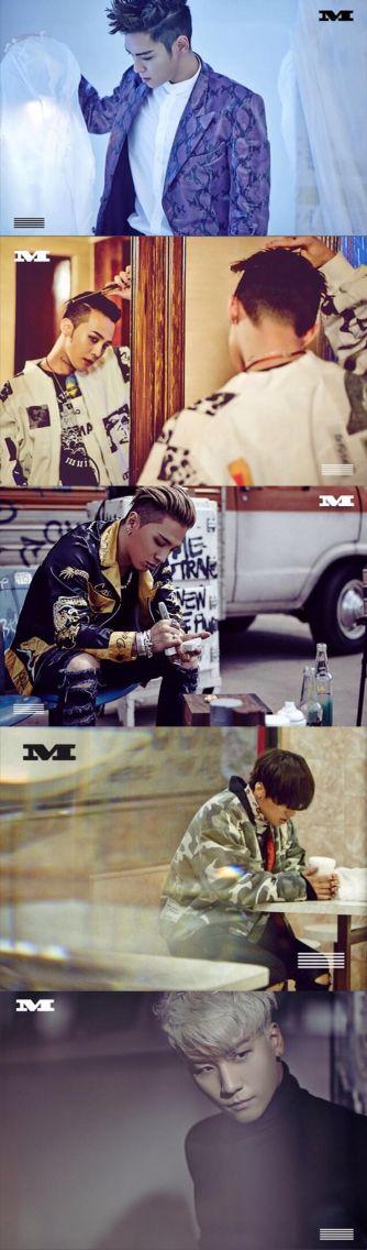 BIGBANG - 'Made' Series Photos from Genie