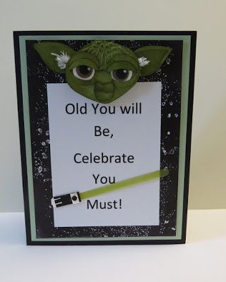 Inkinbythebay - A Creative Place to Play!: A Star Wars Birthday Card                                                                                                                                                      More