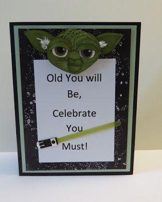 Inkinbythebay - A Creative Place to Play!: A Star Wars Birthday Card