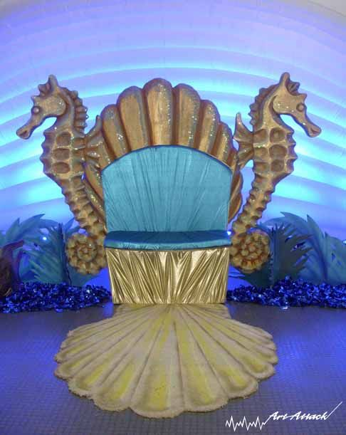 seashell throne