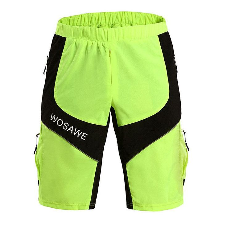 WOSAWE Cycling Shorts MTB DOWNHILL Motocross Off-Road Baggy Men's Sports Bike Bicycle Riding Basketball Shorts
