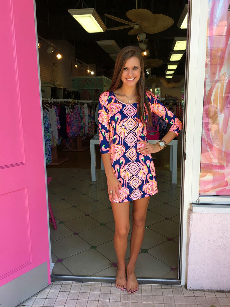 Lilly Pulitzer Beacon Dress Gimmie Some Leg Fall 2016 #pinkbee