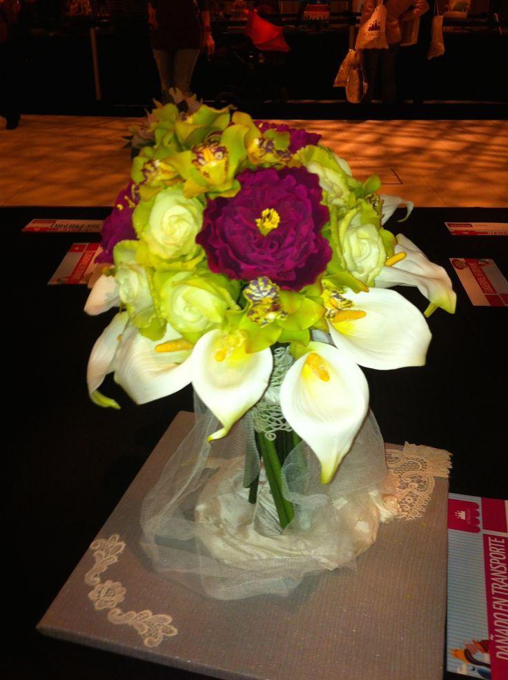 Concurso Flores de Azucar. 1er Premio
