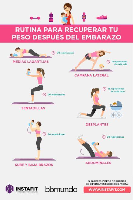 6 formas de hacer ejercicio con tu bebé | bbmundo