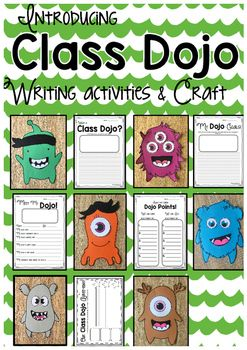 This is a fantastic way to introduce Class Dojo as a behaviour management and reward system in your classroom! It gives students the perfect opportunity to reflect upon the goals and behaviour agreements that have been discussed and set as a group.Included in this pack are the following writing prompts to get students EXCITED about using Class Dojo!* What is Class Dojo? (This would make a fantastic bulletin board or display to inform parents and classroom visitors of your exiting new…