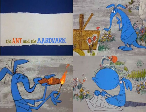 The Ant and the Aardvark Cartoon...remember watching this