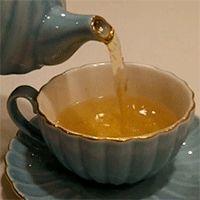 Parasiten sterben, wenn Sie in Ihren Tee ein wenig...