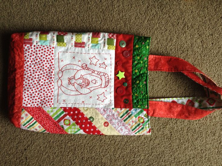 Christmas in July Bunco prize bag