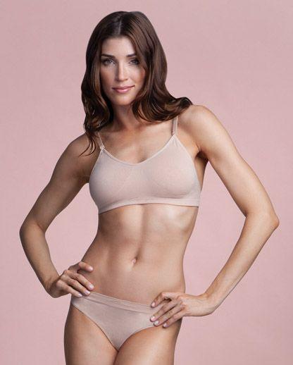 Capezio Seamless Clear Back Bra | Dance Underwear| Capezio