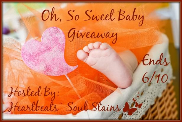 Oh, So Sweet Baby Giveaway~ Co-Host Michigan Saving and More  Entry-Form