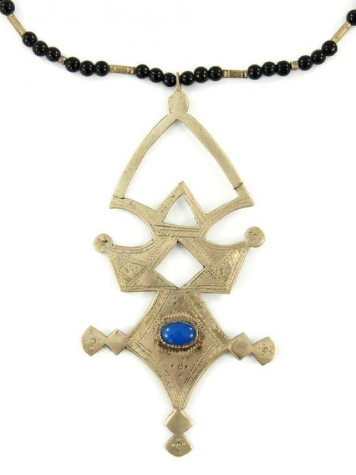 Naszyjnik duży krzyż Tuaregów Necklace big cross Taureg http://www.etnobazar.pl/search/tuareg?limit=128