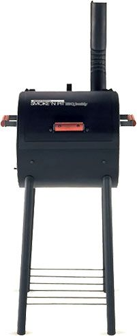 Sweet Review : Grill King SmokeN Pit Heavy-Duty Charcoal/Wood Grill  Smoker