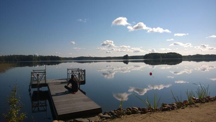 #syksy #Puruvesi #järvi #Punkaharju #Suomi #houseforsale #Finland #lake