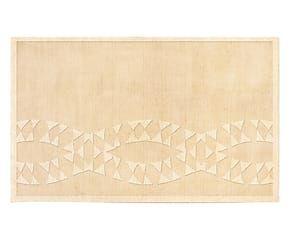 Tappeto in misto lana bikaner Forever sabbia - 200x300 cm