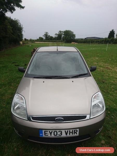 2003 Ford Fiesta Ghia 1.4 Silver 5 door #ford #fiesta #forsale #unitedkingdom