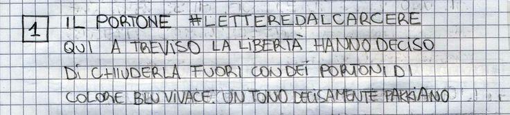 #LETTEREDALCARCERE #PAKKIANO N. 01 - IL PORTONE Lettera scritta dalla cella numero 22 del Penitenziario Santa Bona di Treviso