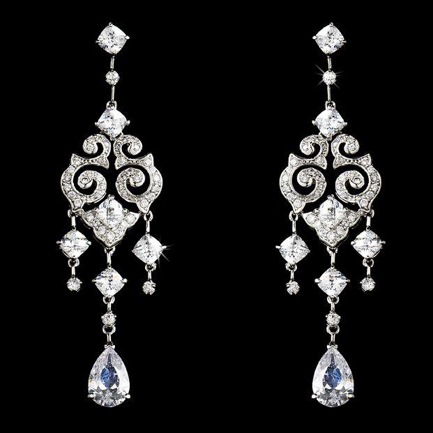 28 best Chandelier earrings images on Pinterest | Wedding earrings ...
