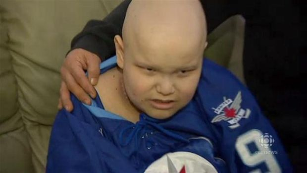 Autistic cancer patient gets Jets tickets from anonymous donor
