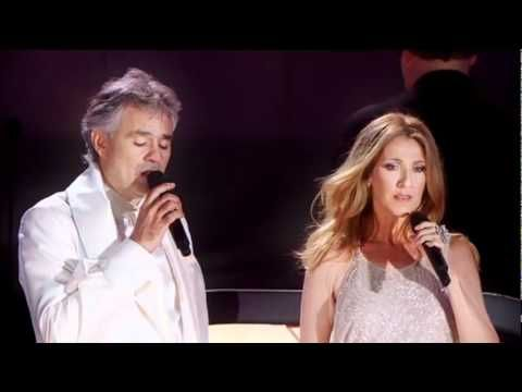 Andrea Bocelli & Celine Dion  One Night in Central Park NY (15 Sept 2011).