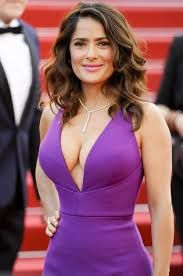 Image result for salma hayek boobs gif