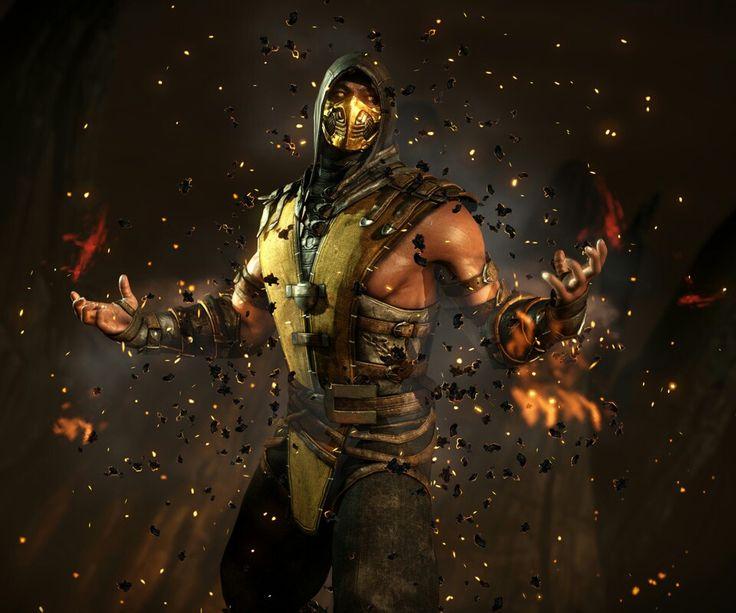 Scorpion.MORTAL KOMBAT!!