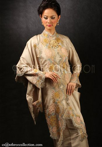 kebaya | ... bordir keywords traditional embrodery weddinggowns weddings kebaya