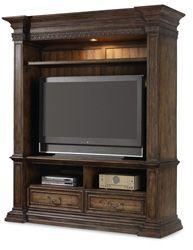 Home Furniture | Rhapsody | Home Entertainment Furniture | Entertainment Console Hutch - By Hooker Furniture