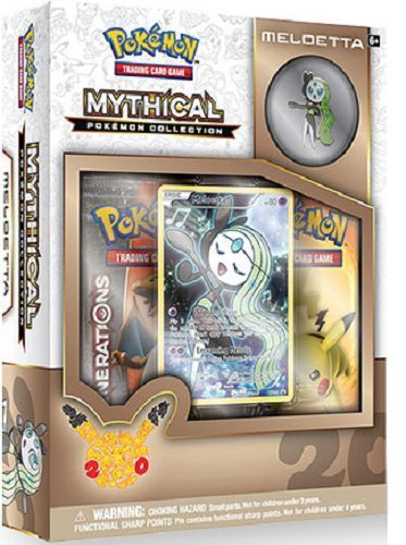 POKEMON CCG MYTHICAL POKEMON COLLECTION BOX SET - MELOETTA - IN STOCK!